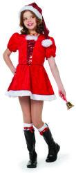 Kerstmeisje Kostuum met Pailletten