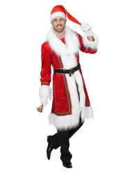 Luxe Kerstmantel Velours voor Heren
