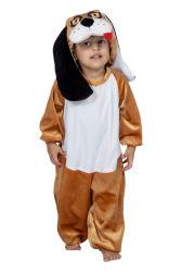 Puppy Kostuum voor Kinderen - bruin/wit