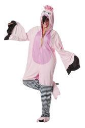 Luxe Flamingo Kostuum voor volwassenen