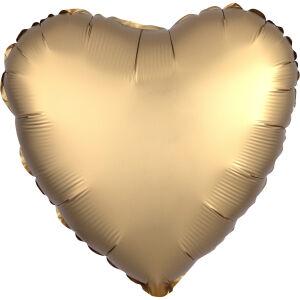 Folieballon Hart Satin Luxe Gold Sateen S15 43cm