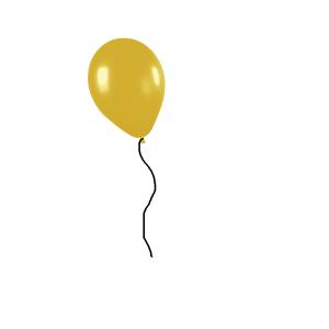 Helium ballon kleur naar keuze
