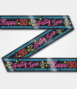 Neon party tape - 30