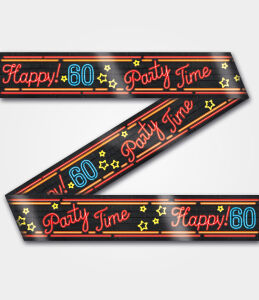 Neon party tape - 60