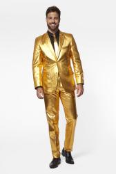 OppoSuites Groovy Gold kostuum voor mannen