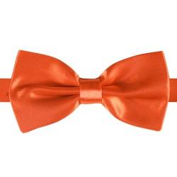 Vlinderstrik Deluxe - oranje