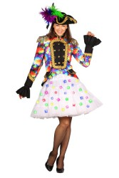 Petticoat ''Bellatrix'' met multicolour LED - wit
