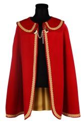 Prinsenmantel lang, Rood-Goud