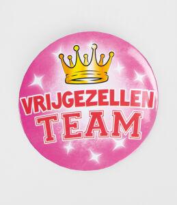 Button XL - Vrijgezellen Team dames